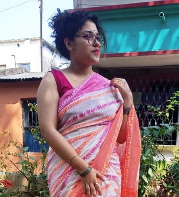 Handloom Khadi Saree with Blouse Piece - PL-5HKHD-04