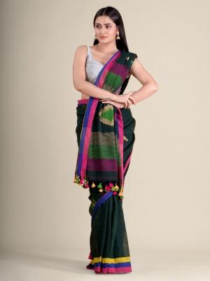 Handloom Khadi Barfi Pallu Saree - AK-RKB5299-SS-03