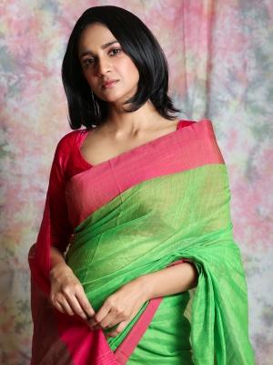Handloom Kusumdola MahaAchal Saree - PL-3HKDL-06